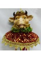 Новогоднее украшение «Бык»
