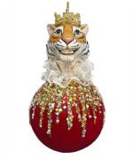 Елочное украшение «Тигр в короне»