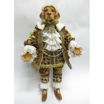 Коллекционная кукла  «Пёс Лорд»