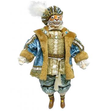 Большая коллекционная кукла «Сэр Тигр»