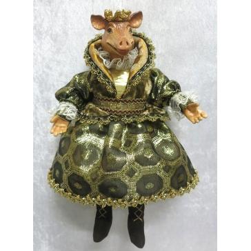 Коллекционная кукла «Принцесса Свинка»