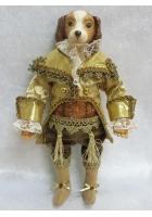 Новогодняя кукла «Собака Джентльмен»