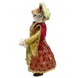 Коллекционная кукла «Леди Тигрица», ручная работа