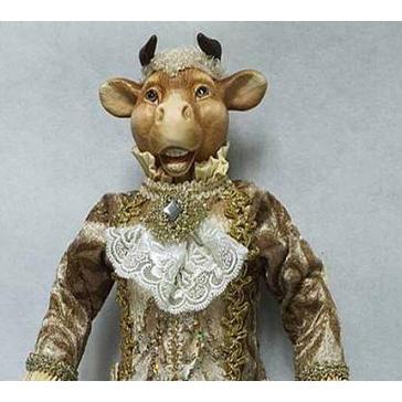 Коллекционная кукла «Бык Джентльмен»