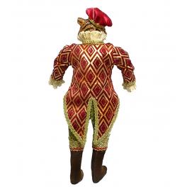 Коллекционная кукла ручной работы «Тигр Джентльмен», символ 2022 года