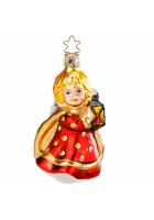 Ёлочная игрушка «Рождественский ангелочек»
