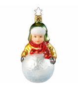 Ёлочная игрушка «Мальчик с комом»