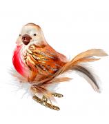 Ёлочная игрушка «Птичка певчая»