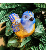 Ёлочная игрушка «Синичка»