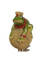 Ёлочная игрушка «Лягушка»