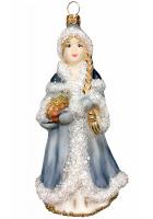 Ёлочная игрушка «Снегурочка со шкатулкой»