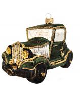 Ёлочная игрушка «Джип зелёный»