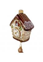 Ёлочная игрушка «Часы с кукушкой»