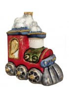 Ёлочная игрушка «Паровоз»