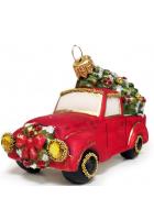 Ёлочная игрушка «Рождественское авто»