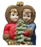 Ёлочная игрушка «Дети с ёлочкой»