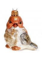 Ёлочная игрушка «Птичка»