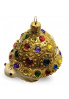Ёлочная игрушка «Драгоценная черепашка»