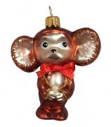 Ёлочная игрушка «Чебурашка»