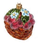 Ёлочная игрушка «Зимняя вишня»