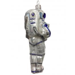 Ёлочная игрушка «Космонавт», 13 х 6 см