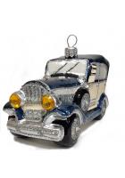 Ёлочная игрушка «Джип синий»