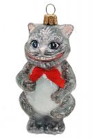 Ёлочная игрушка «Чеширский кот»