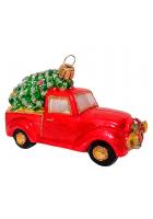 Ёлочная игрушка «Машина с ёлочкой»