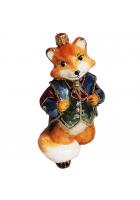 Ёлочная игрушка «Нарядный лис»