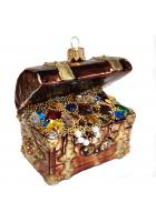 Ёлочная игрушка «Сундук с сокровищами»