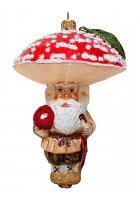Ёлочная игрушка «Гриб Мухомор»