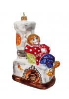Ёлочная игрушка «Емеля на печи»