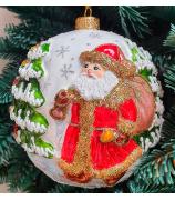 Ёлочный шар «Дедушка Мороз»