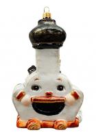 Ёлочная игрушка «Печка»