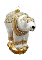 Ёлочная игрушка «Царский медведь»