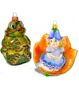 Набор ёлочных игрушек «Дюймовочка»