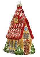 Ёлочная игрушка «Дом с мезонином»