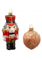 Набор ёлочных игрушек «Щелкунчик и орешек»