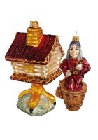 Набор ёлочных игрушек «В гостях у Бабы-Яги»