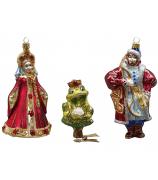 Набор ёлочных игрушек «Царевна-лягушка»
