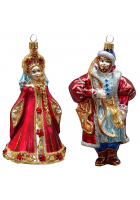 Набор ёлочных игрушек «Царевич и царевна»
