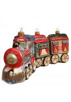 Набор ёлочных игрушек «Поезд»
