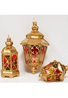 Набор ёлочных игрушек «Фонарики»