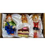Набор ёлочных игрушек «Малыш и Карлсон»
