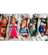 Набор ёлочных игрушек «Алиса в стране чудес»