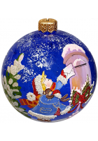 Ёлочный шар «Письмо Деду Морозу»