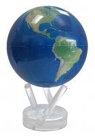 Глобус настольный самовращающийся большой