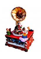 Музыкальный сувенир «Граммофон Санты»