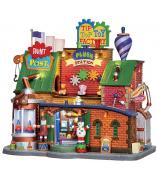 Домик с подсветкой «Фабрика игрушек»