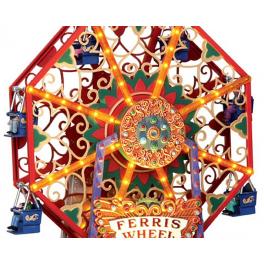Музыкальная композиция с подсветкой «Аттракцион Викторианское колесо обозрения», Lemax